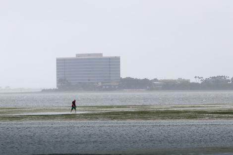 Kako je Irma izazvala nestanak mora