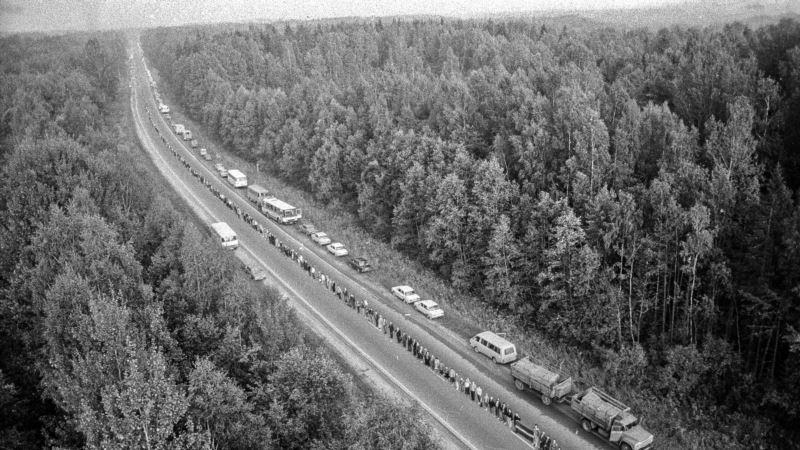 Kako je fotograf prije 30 godina uhvatio Baltički put