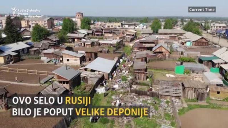 Kako je očišćeno sibirsko selo prepuno smeća