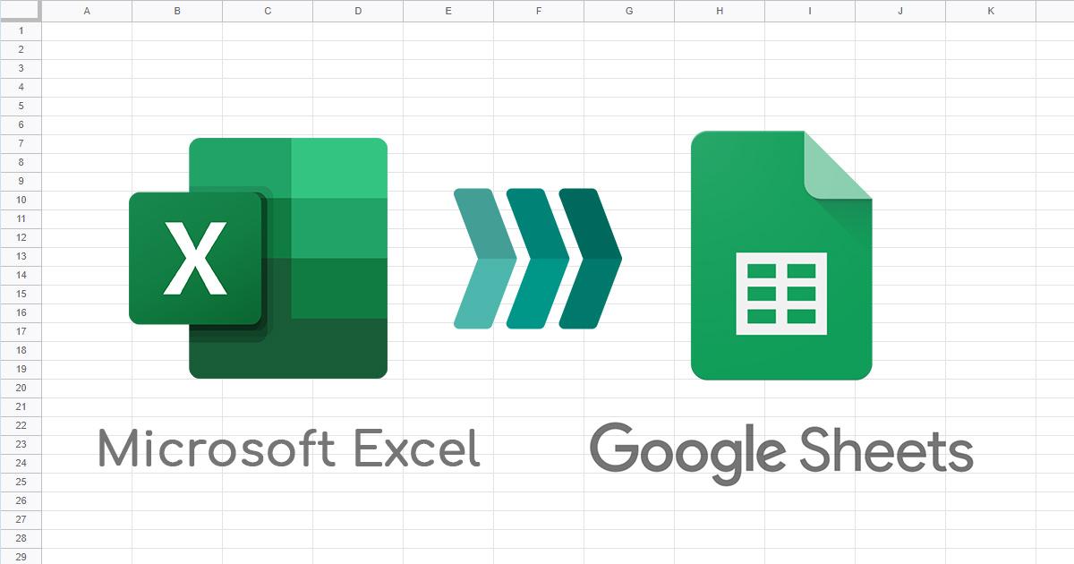 Kako konvertovati Excel fajl u Google Sheets