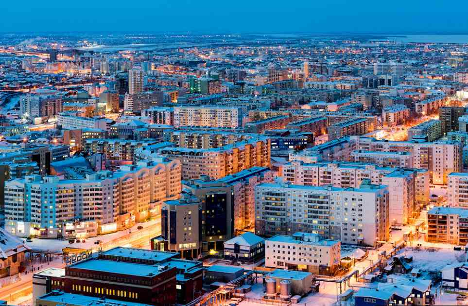 Kako se u Rusiji podižu gradovi na večno smrznutom tlu