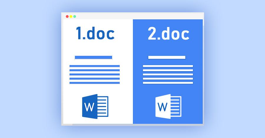 Kako uporediti dva Word dokumenta online?