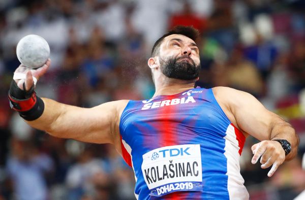 Kakva uvertira za Svetsko prvenstvo, Asmir Kolašinac oborio državni rekord!