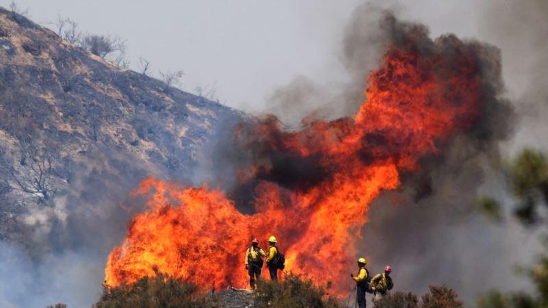 Kalifornija: Nekoliko stotina kuća evakuisano zbog šumskog požara