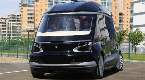 KamAZ predstavio električni autobus bez vozača