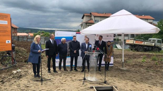 Kamen temeljac u Smederevskoj Palanci za izgradnju stanova za izbeglice iz Hrvatske i BiH