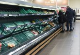 VB: Kamiondžije nervozne, supermarketi prazni FOTO