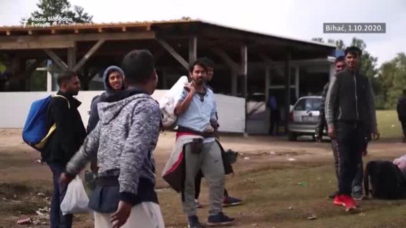Kamp Bira prazan, migranti na zapadu BiH pod vedrim nebom
