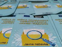 Kampanja podizanja informisanosti građana o značaju javnih nabavki održana u centru Niša