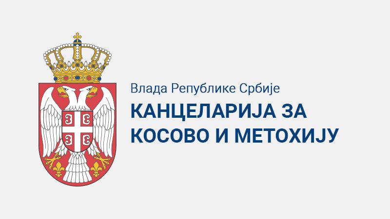 Kancelarija za Kosovo i Metohiju: Priština prikriva istinu o Dečanima