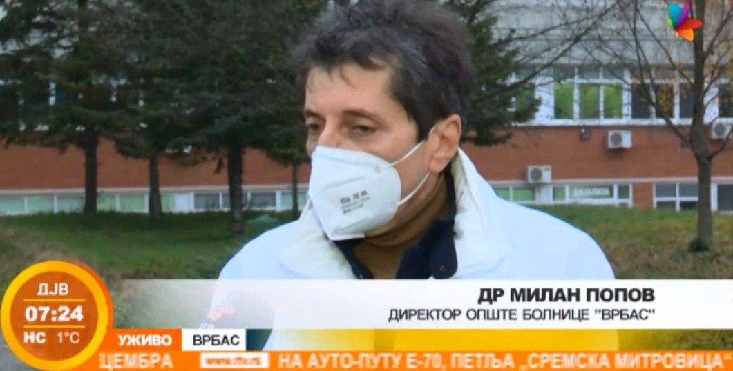 Kapaciteti bolnice u Vrbasu na granici popunjenosti