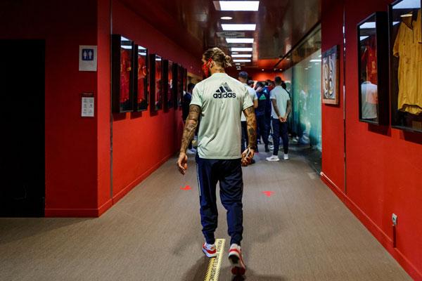Kapiten ide, ali je uz tim - Ramos održao slovo, Zizu nije bio pozvan!