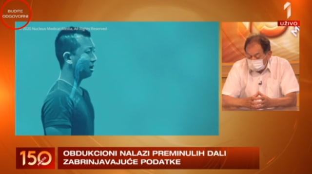Kardiolog dr Ristić o kovid-19: Kraj nije blizu. Promene su katastrofalne VIDEO