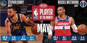 Kari i Vestbruk najbolji u maju u NBA ligi