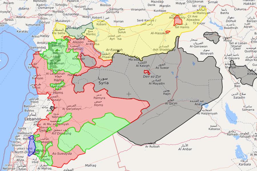 Karta Sirije