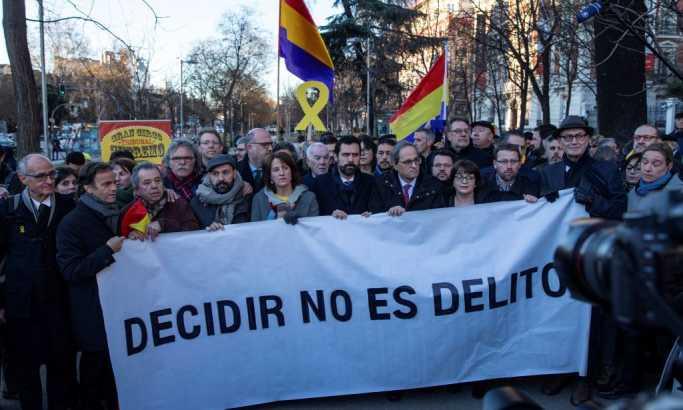 Katalonija na nogama - počinje suđenje separatistima