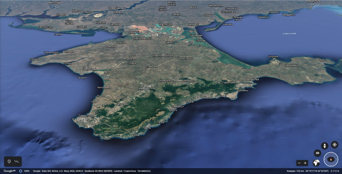 Kijev neće krenuti u vojni povratak Krima