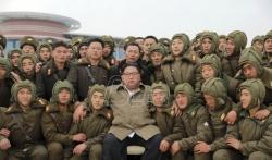 Kim Džong Un nadgledao još jednu vežbu severnokorejske vojske