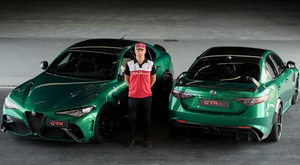 Kimi Raikonen testirao model Alfa Romeo Giulia GTA