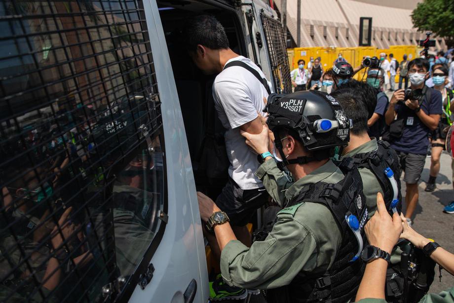 Kina najavljuje zakon za Hongkong