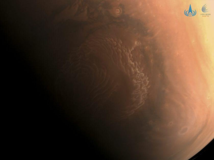 Kina objavila nove fotografije Marsa