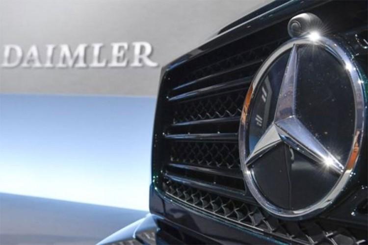Kineska potražnja pomogla Daimleru u prvom tromjesečju