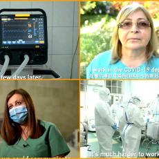 Kineska televizija napravila POTRESNU PRIČU o srpskim lekarima, Vesna sa Infektivne poslala EMOTIVNU PORUKU (VIDEO)