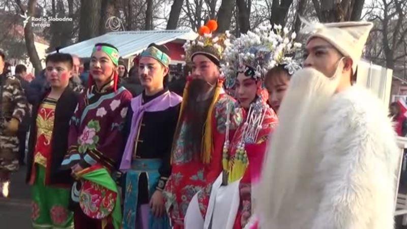 Kineski novogodišnji vašar u Beogradu