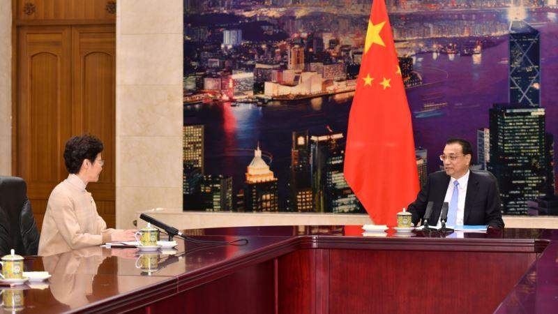 Kineski premijer: Nisu riješene dileme u Hong Kongu
