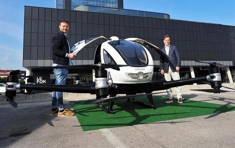 Kineski putnički dron razvija se u Austriji i Sloveniji