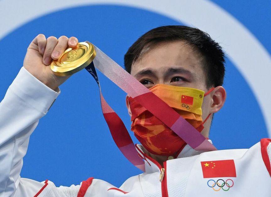 Kineski takmičar osvojio zlato u skokovima u vodu
