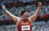 Kineskinji zlato u bacanju kugle