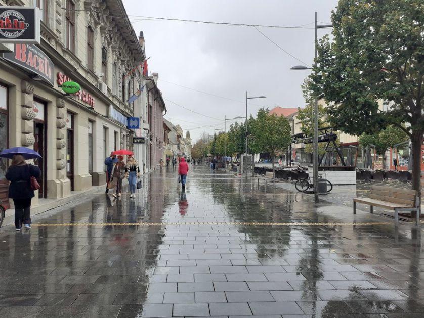 Kiša i pad temperature