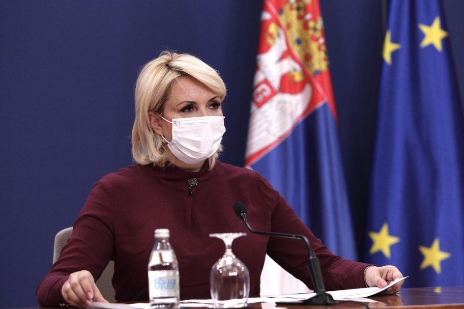 Kisić: Ako i budem ministarka, ostajem u Kriznom štabu