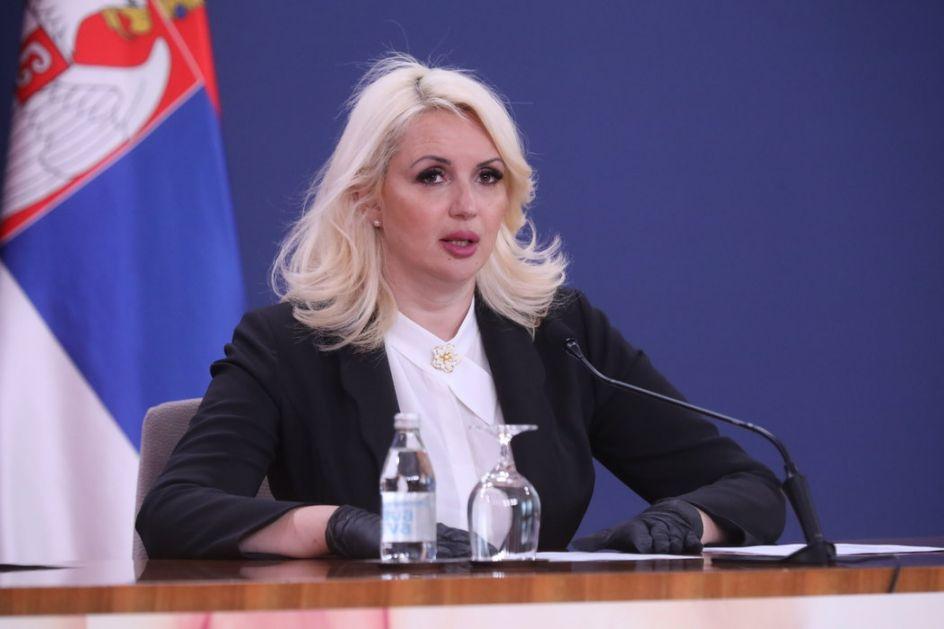 Kisić Tepavčević: Epidemija se stišava, testira se manje građana