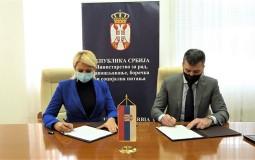 Kisić Tepavčević preuzela resor rada od Zorana Đorđevića