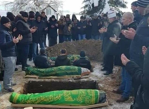 Klanjana dženaza žrtvama masakra u selu Rasno kod Sjenice