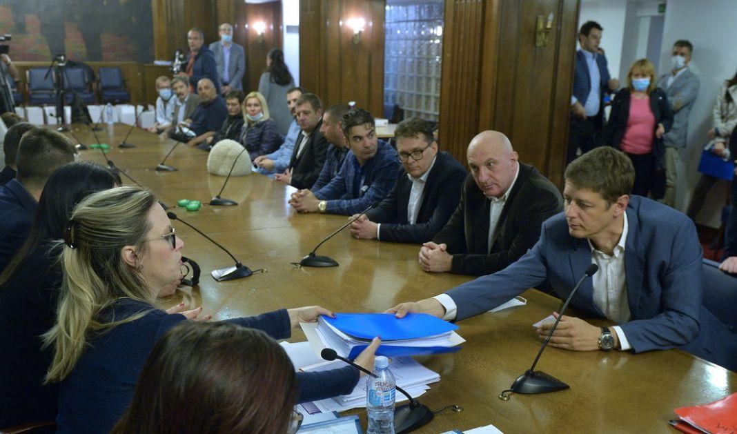 Koalicija za mir-Čedomir Jovanović predala listu dva minuta pre isteka roka