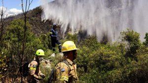 Kod Atine izbio šumski požar, zatvoren autoput