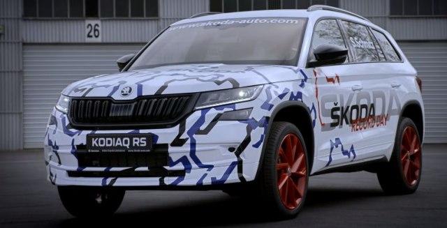 Kodiaq RS oborio rekord Nirburgringa u SUV klasi (VIDEO)