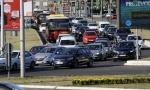 Kolaps u gradu: Sudar na Autokomandi autobusi se jedva provlačili