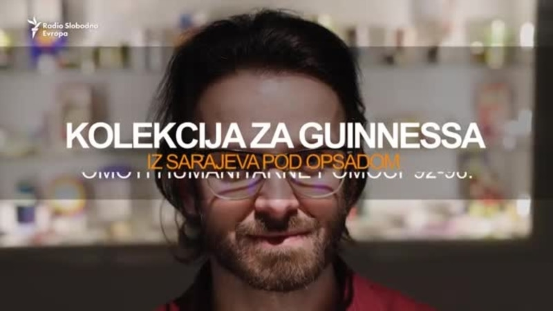 Kolekcija iz opsade Sarajeva za Guinnessovu knjigu rekorda