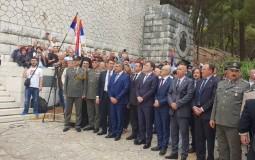 Komemoracija srpskim vojnicima i civilima na Krfu i Vidu