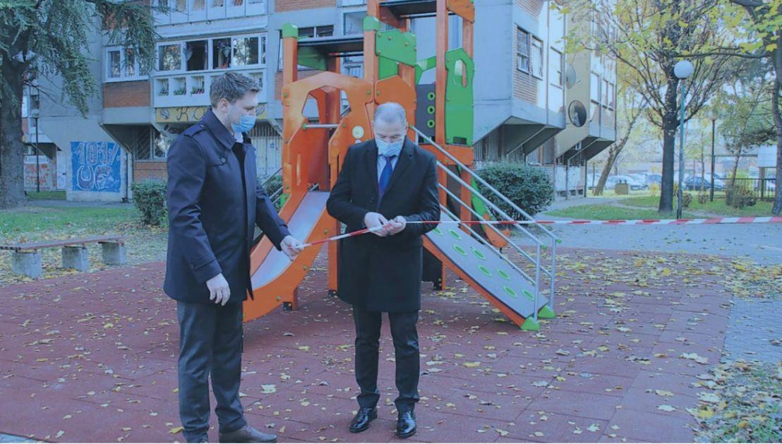 """Kompanija """"Gazprom Energoholding Serbia"""" poklonila igralište deci Pančeva"""