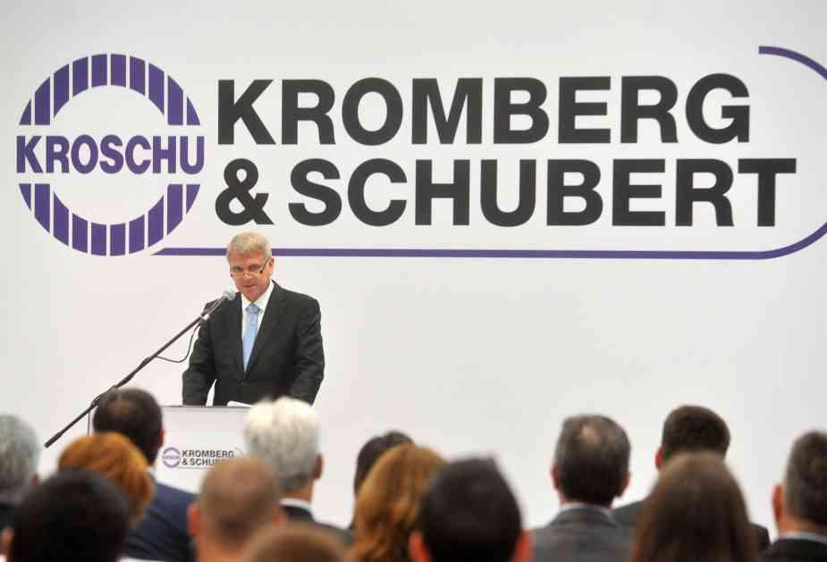 Kompanija Kromberg i Šubert otvorila fabriku u Kruševcu