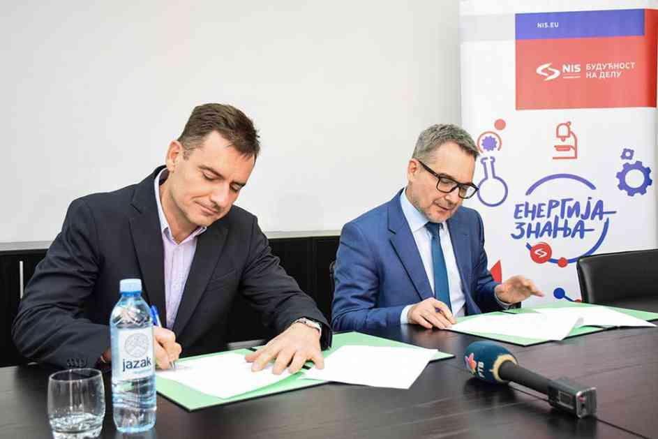 Kompanija NIS i Ekonomski fakultet u Subotici potpisali Memorandum o saradnji