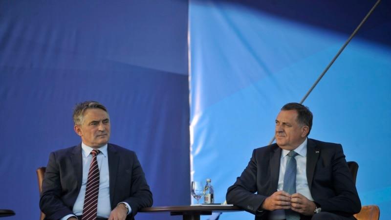 Komšić: Dodik svojim potezima doveo u pitanje RS