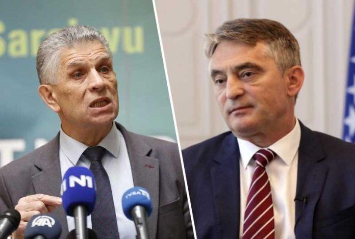 Komšić: Srbija je zemlja Sulejmana Ugljanina, ne bih da se petljam u odnose druge države