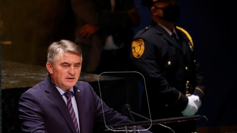 Komšić u UN-u: Strateški cilj suseda prisvajanje dela teritorije BiH