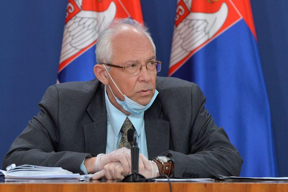 Kon: Srbija ulazi u nepovoljnu epidemiološku situaciju